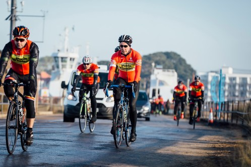 poole wheelers club ride with 412