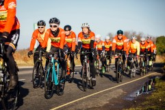 poole wheelers club ride with 491