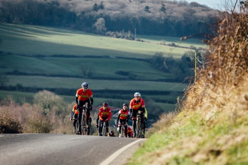poole wheelers club ride with 518