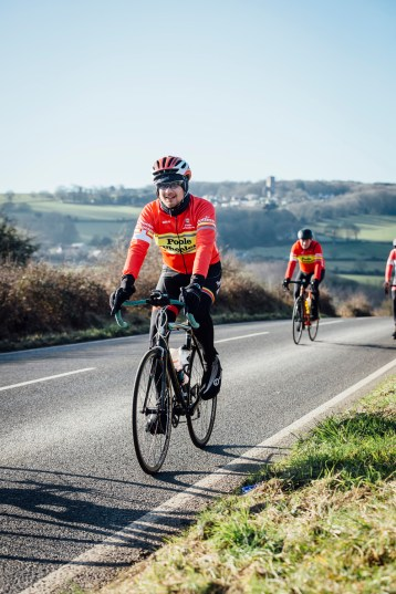 poole wheelers club ride with 571