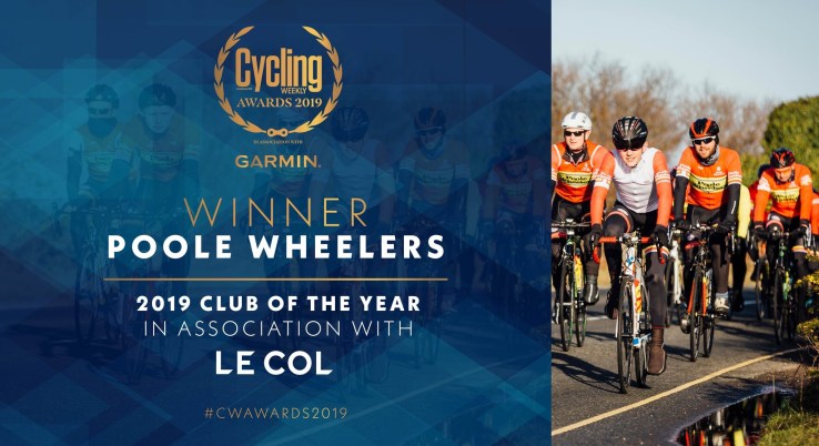 Poole Wheelers WINS Club of the Year!