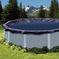Swimline Round Above Ground Swimming Pool Leaf Net Top Cover