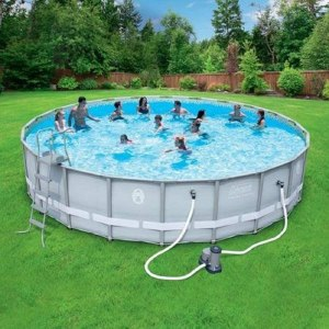 Coleman 22-x52 Power Steel Frame Pool (Above ground) Review 1