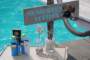 Sunscreen Station
