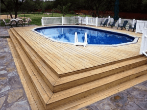 San Antonio Deck Surround