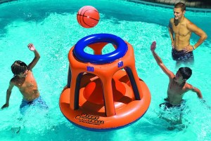 Swimline Giant Shootball Basketball Swimming Pool Game