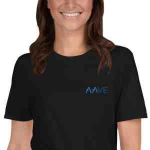 Aave Logo Short-Sleeve Unisex T-Shirt