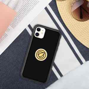 Garlicoin Logo Biodegradable phone case