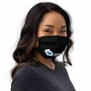 BPSAA Logo Premium face mask