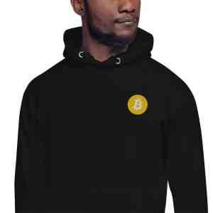 Bitcoin Logo Unisex Hoodie