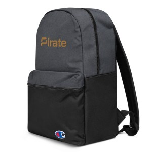 Pirate Embroidered Champion Backpack