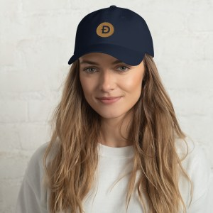 Dogecoin Logo Dad hat