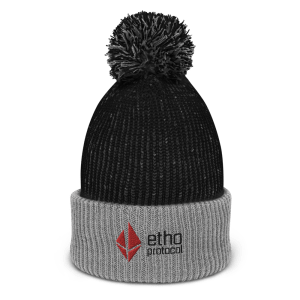 Etho Protocol Pom-Pom Beanie