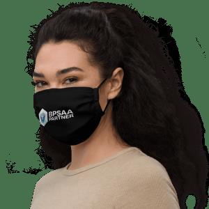 BPSAA Sponsor Premium face mask