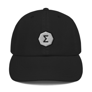 Ergo Logo Champion Dad Cap
