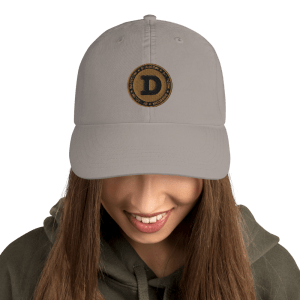 Dogecoin Collectors Champion Dad Cap