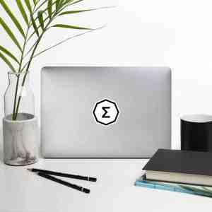 Ergo Logo Bubble-free stickers