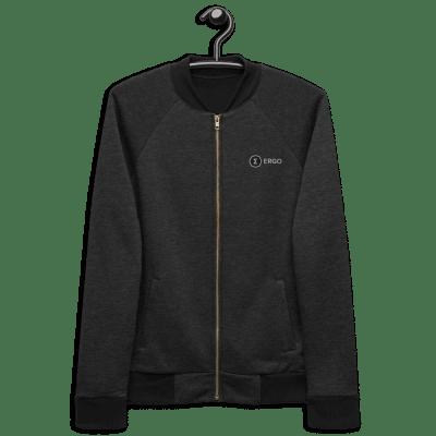 unisex-bomber-jacket-heather-black-front-60abaeb65e927.png