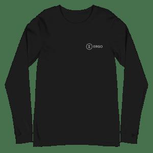 Ergo Full Logo Unisex Long Sleeve Tee