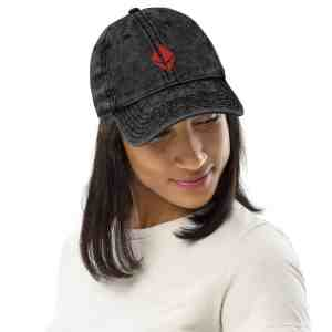 Etho Protocol Logo Vintage Cotton Twill Cap