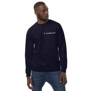Turtle Network Full Logo  Unisex eco sweatshirt