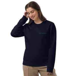 Cardano Full Logo Unisex eco sweatshirt