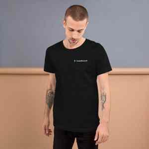 Turtle Network Full Logo Short-Sleeve Unisex T-Shirt
