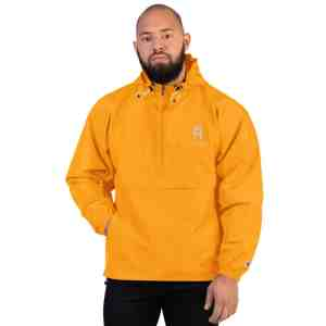 REX Just Stake It Embroidered Champion Packable Jacket