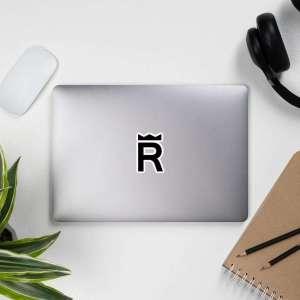 REX Token Logo Bubble-free stickers