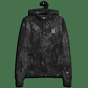 Pool Party Nodes Logo Unisex Champion tie-dye hoodie
