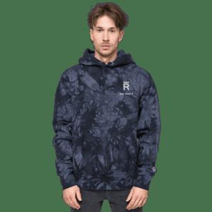 Rex Just Stake It Unisex Champion tie-dye hoodie