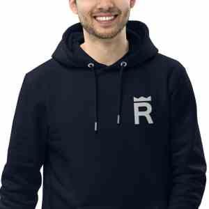 REX Token Logo Unisex essential eco hoodie