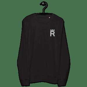REX Token Logo Unisex organic sweatshirt