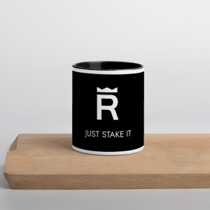 REX Just Stake It Mug with Color Inside