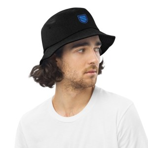 Sentinel Dvpn Logo Denim bucket hat