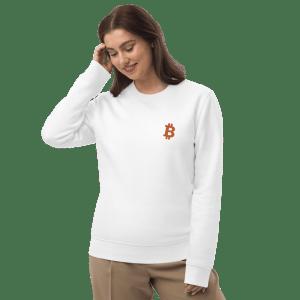Bitcoin Logo Unisex eco sweatshirt
