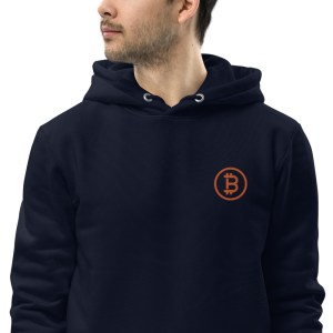 Bitcoin Logo Unisex essential eco hoodie
