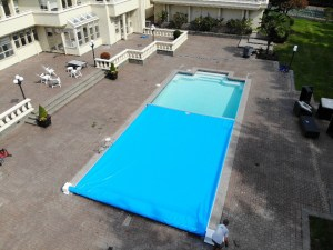 Vancouver Pool Cover Installation – 20×40 Foot Pool Cover