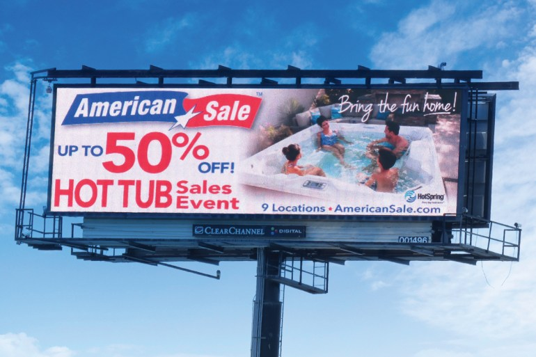 Marketing - Digital Billboard 1
