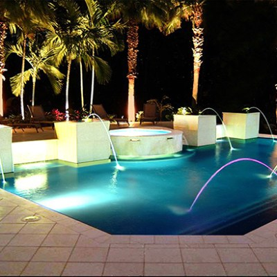 pool renovators water features