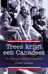 """De omslag van het boek """"Trees krijgt een Canadees""""."""