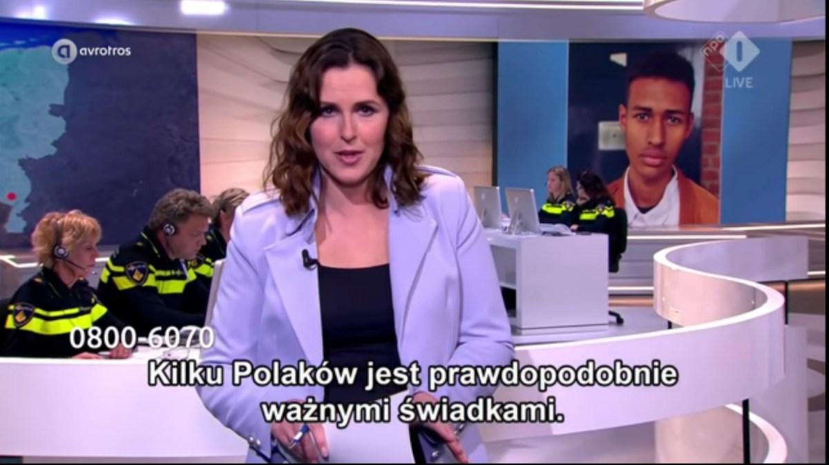 Holenderska policja poszukuje polskich świadków.