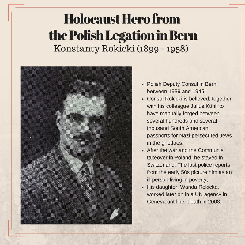 Konstanty Rokicki  Polish Holocaust Hero
