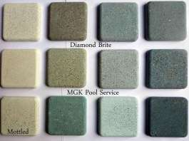 Pool Plaster Samples