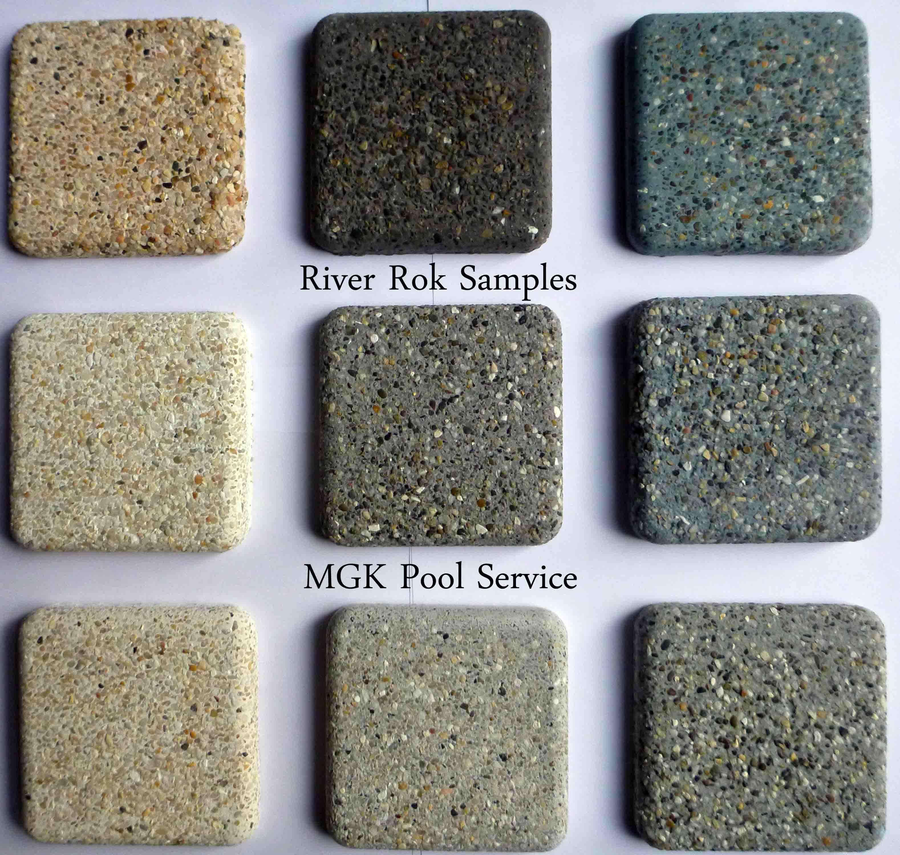 Sealing exposed aggregate pool deck - River Rok Pebble Exposed Aggregate Finish