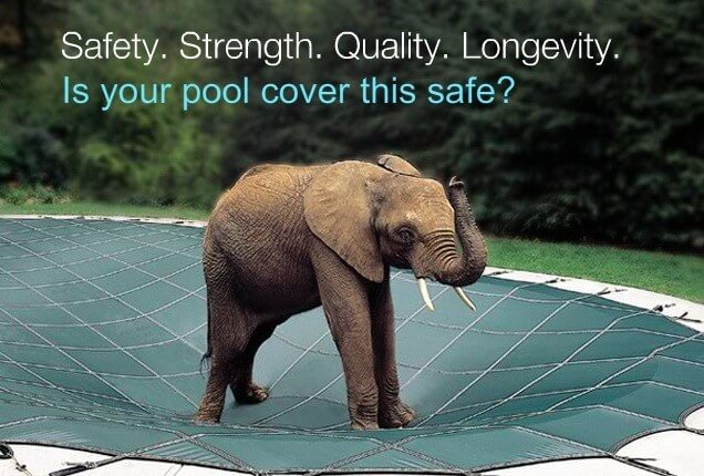 Safety Cover Sagging With Snow Load – Droopy Pool Cover