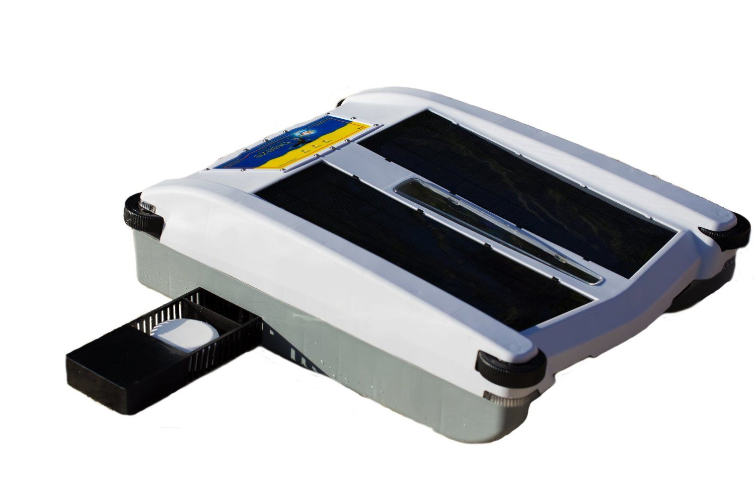 Robotic skimmer solar breeze review new pool cleaner for Automatic pool cleaner reviews 2014