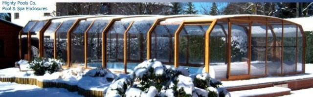 winter pool and spa enclosures