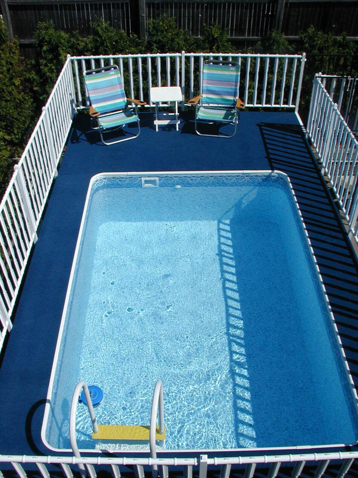 Admiral 39 s walk pool vs gibraltar kayak elite above ground pools for A rectangular swimming pool is 6 ft deep