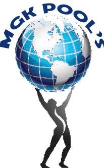 MGK Pools Logo